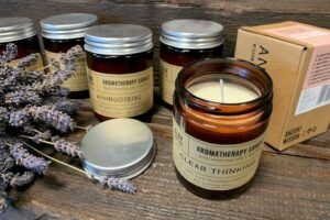 Aromatherapy soysawax candles