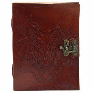 Handmade notebook Dragon
