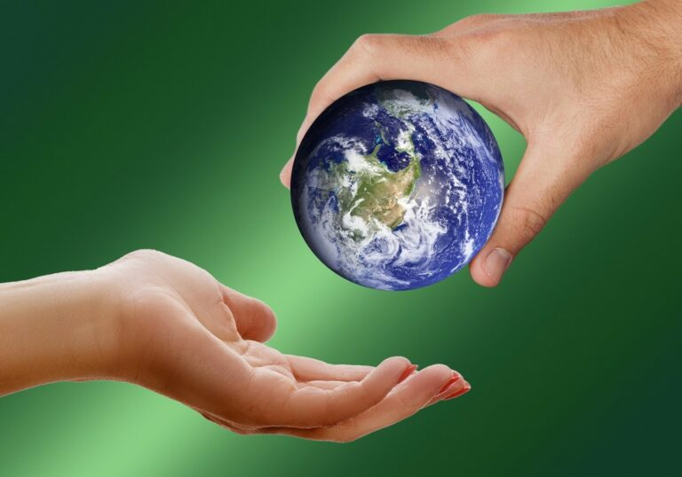 Holding the world in our hands