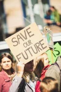 save our future. The Talk about Climate Change