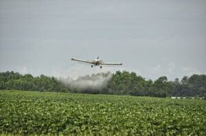 aeroplane spraying crops Why use eco friendly products