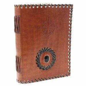 Leather Black Onyx Notebook