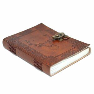 Leather Stag Notebook