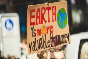 Earth is worth more than money