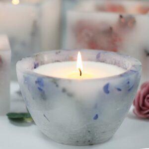 Large Bowl soya candle - Luxury enchanted glowing candle