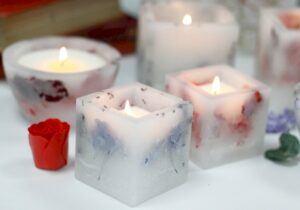 Enchanted Glowing Soya candles