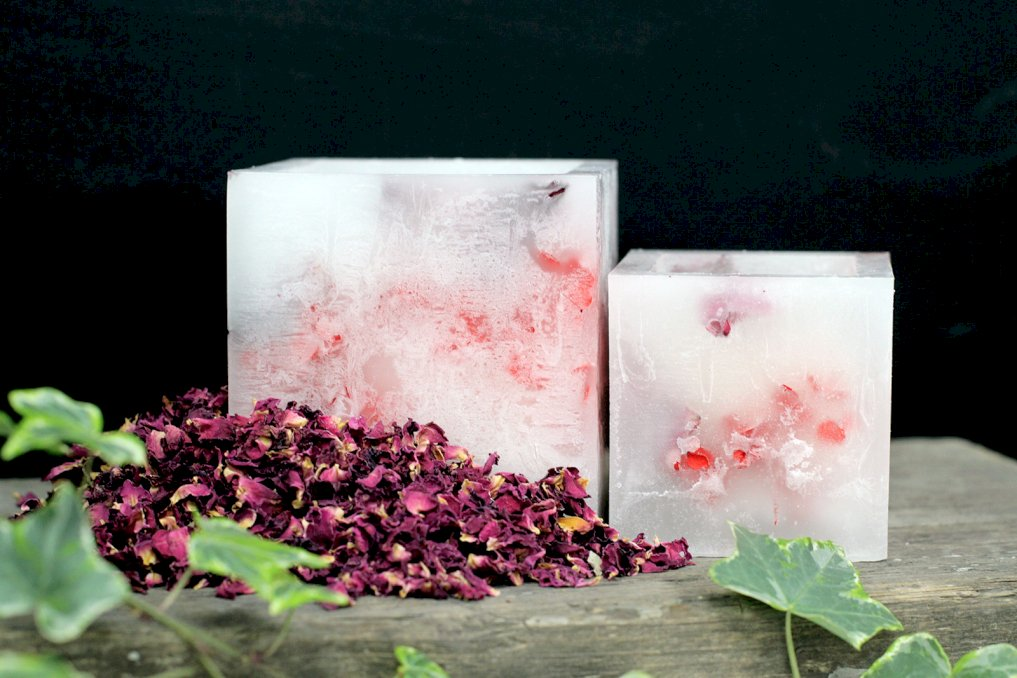 Soya enchanted square candles - Rose