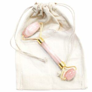 Gemstone Facial Roller - Rose Quartz