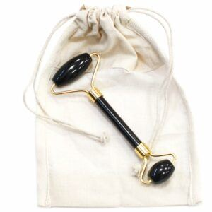 Gemstone Facial Roller - Black Obsidian