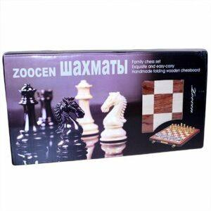 zoocen metal pieces chess set