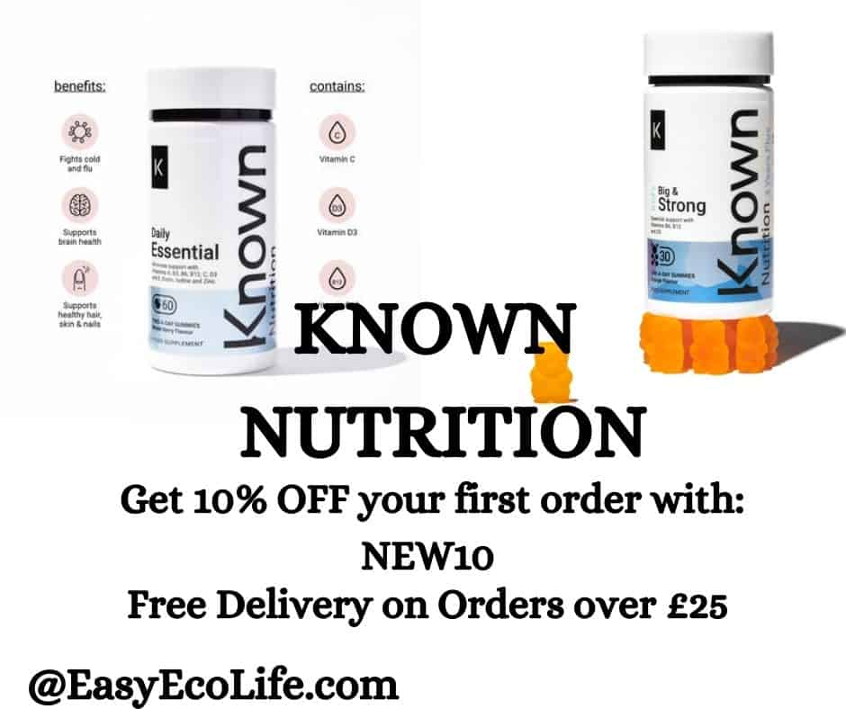 Known Nutrition Quality Supplements